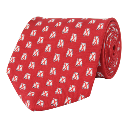 AL Traditional Red Tie